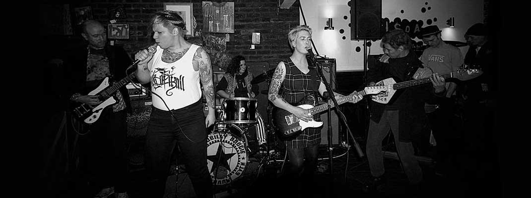 Female-fronted punk band