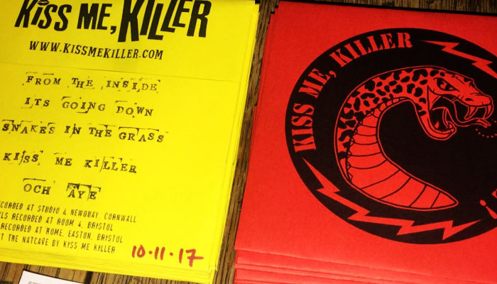 Kiss Me, Killer debut DIY release in CD format. The ultimate Christmas prezzie for all your friends and family.