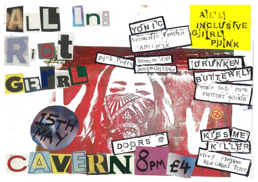 A night of punk rock action in Exeter.